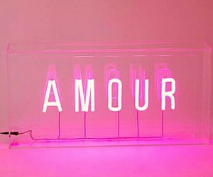 amour, lights, and words image