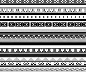 black, black and white, and patterns image