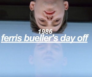 1986, 80s, and ferris bueller image