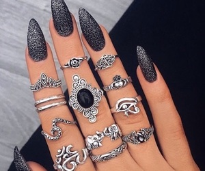 accessories, hair, and nails image