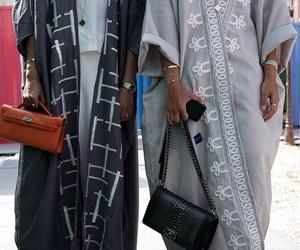 fashion, scarf, and khaleeji image