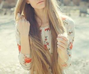 girl, long hair, and add more tags image