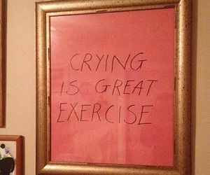 art, quotes, and crying image