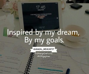 goals, quotes, and school image