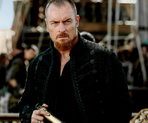 Flint, pirate, and toby stephens image