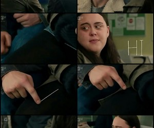 my mad fat diary and finn and rae image