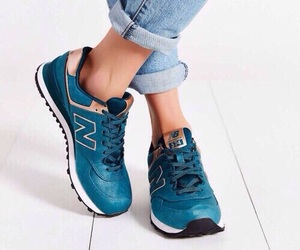 shoes, style, and new balance image
