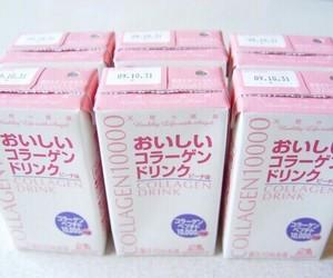pink, drink, and kawaii image