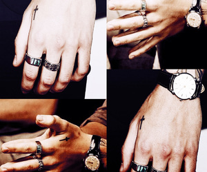hands, styles, and tumblr image
