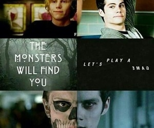 teen wolf, monster, and stiles image