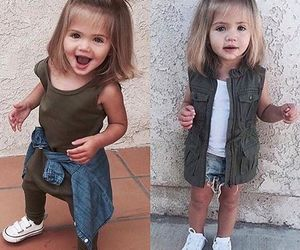 fashion, girl, and baby image