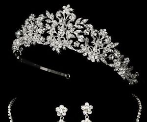 accessories, crown, and jewelry image