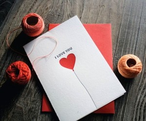 cards, valentines day, and homemade image