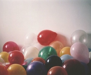 balloons, vintage, and photography image