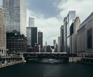architecture, chicago, and travel image