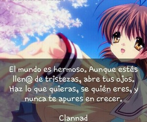 clannad and frases anime image