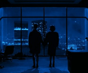 fight club, blue, and grunge image