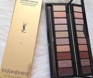 makeup, YSL, and cosmetics image