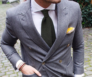 classy, man, and fashion image