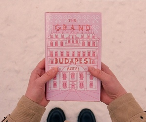 the grand budapest hotel, movie, and book image