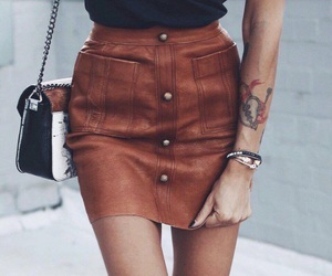 brown, fashion, and style image