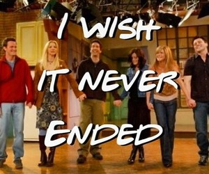 friends, tv show, and tv image