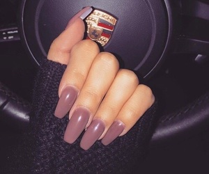 nails, car, and porsche image
