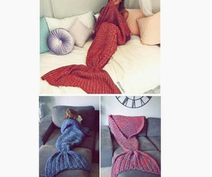 blanket and mermaid image