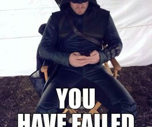 arrow, meme, and oliver queen image