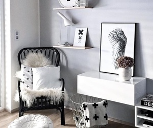 bedroom, inspiration, and decoration image