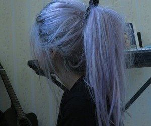 grunge, aesthetic, and hair image