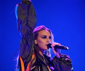 perrie edwards, little mix, and dangerous woman tour image
