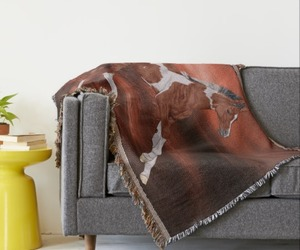home decor, room decor, and throws image
