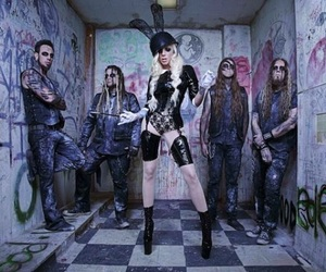 in this moment, maria brink, and band image