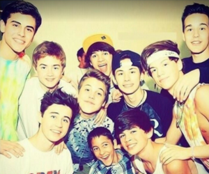 magcon, nash grier, and taylor caniff image
