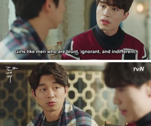 goblin, quotes, and kdrama image