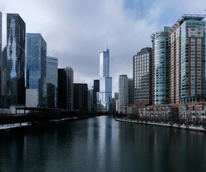 buildings, chicago, and travel image