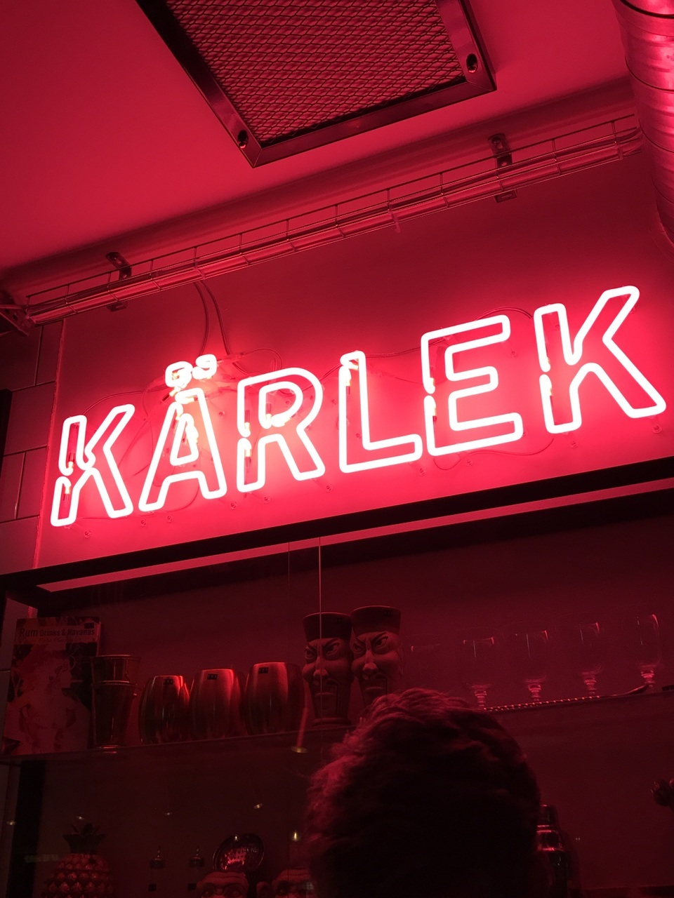 neon, swedish, and kärlek image