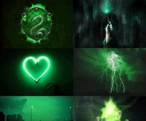 aesthetic, moodboard, and green image