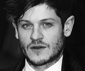 actor, black and white, and iwan rheon image