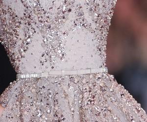 dress, elie saab, and glitter image