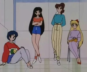 sailor moon, girl, and retro image