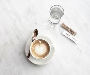 coffee, minimal, and water image