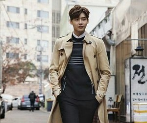 korean, actor, and lee jong suk image