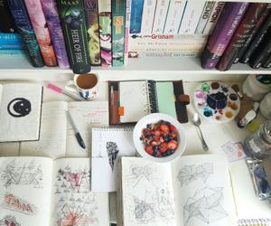 study, books, and inspiration image