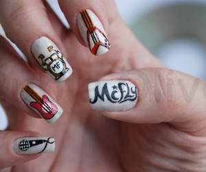 McFly, nails, and nail art image