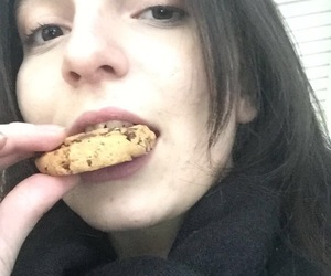 cookie, eating, and fugly image