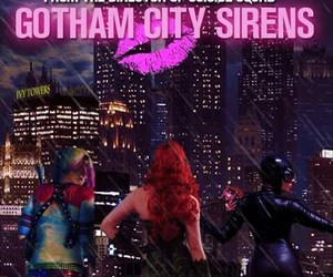 catwoman, harleen quinzel, and gotham city image