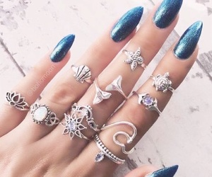 accessories, boho, and nails image