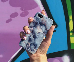 iphone case, phone case, and marble case image